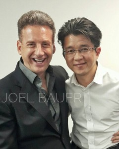 Joel Bauer with Artus Ong