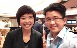 Selfie with Fiona Yuen from HKGCC